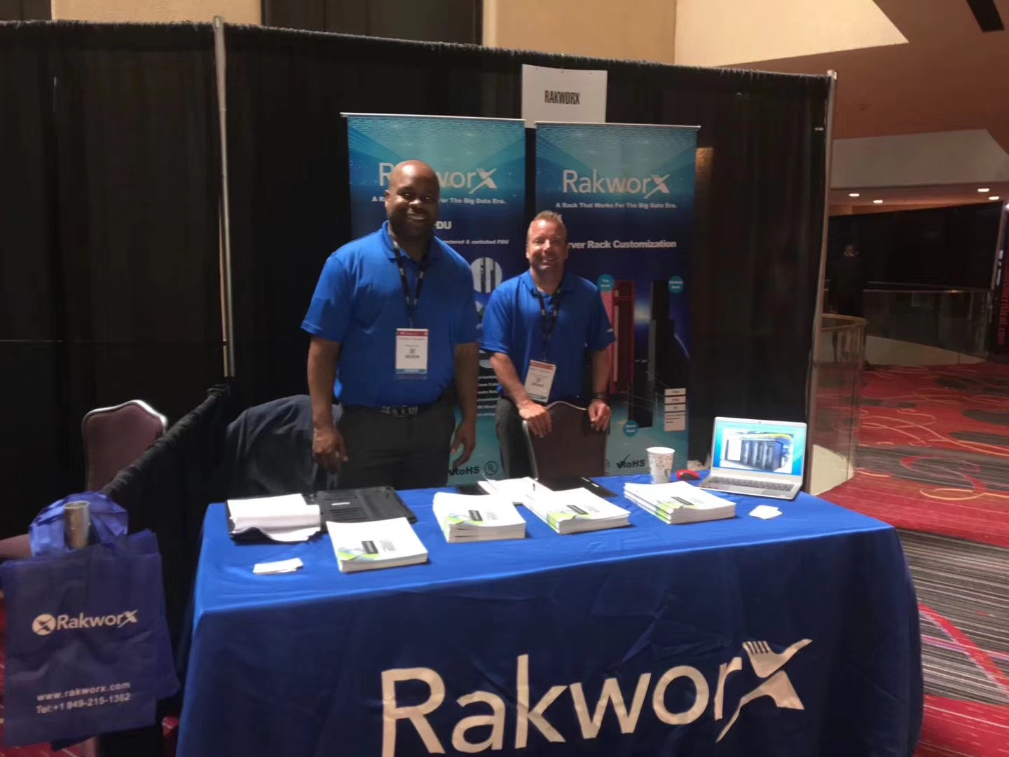 RakworX at DCD 2018 in New York